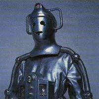 Barry Noble - Cyberman The Moonbase - Classic Dr Who 1967