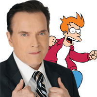Billy West Futurama's Voice of Fry Attends YCC2018