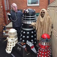 Andrew Fenwick-Green shares Dr Who Collection at YCC