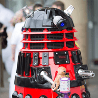 Guinness World Record Holder of the Most Daleks Rob Hull