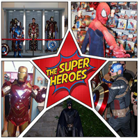 The Super Heroes Are coming to Yorkshire Cosplay Con