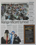 Manga-nificent turnout
