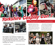 Yorkshire Cosplay Con 7  The Magnaificent Convention.