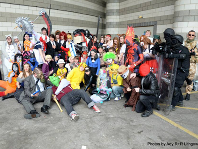 All the best cosplayers Gather at Yorkshire Cosplay Con