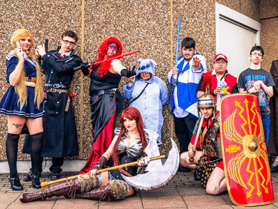 Join The Thousands Of Anime Comic Book Sci Fi Video Game And Yorkshire Cosplay Con 2017