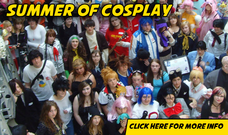 A Summer of Cosplay - A Yorkshire Cosplay Social Club event, 17th September 2016 Bentley Myplace Doncaster