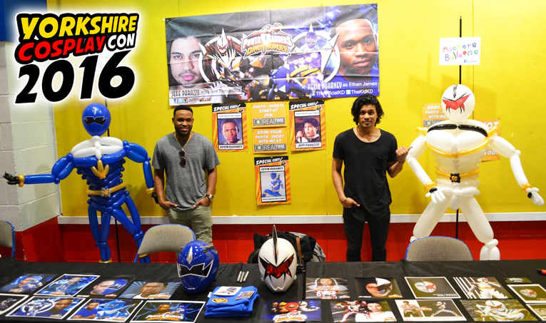 Power Rangers Dino Thunder Stars Kevin Duhaney and Jeff Parazzo joined the madness at #ycc2016