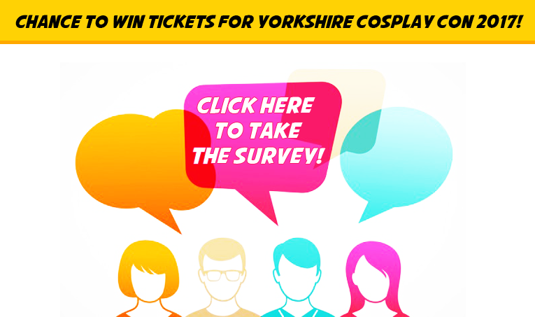 Leave us your feedback and you will be in with a chance of winning tickets to YCC2017